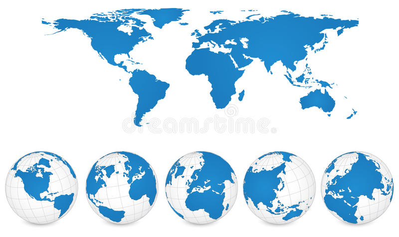 800x476 Stock Illustration Vector Old Globe Map World N As World Map In