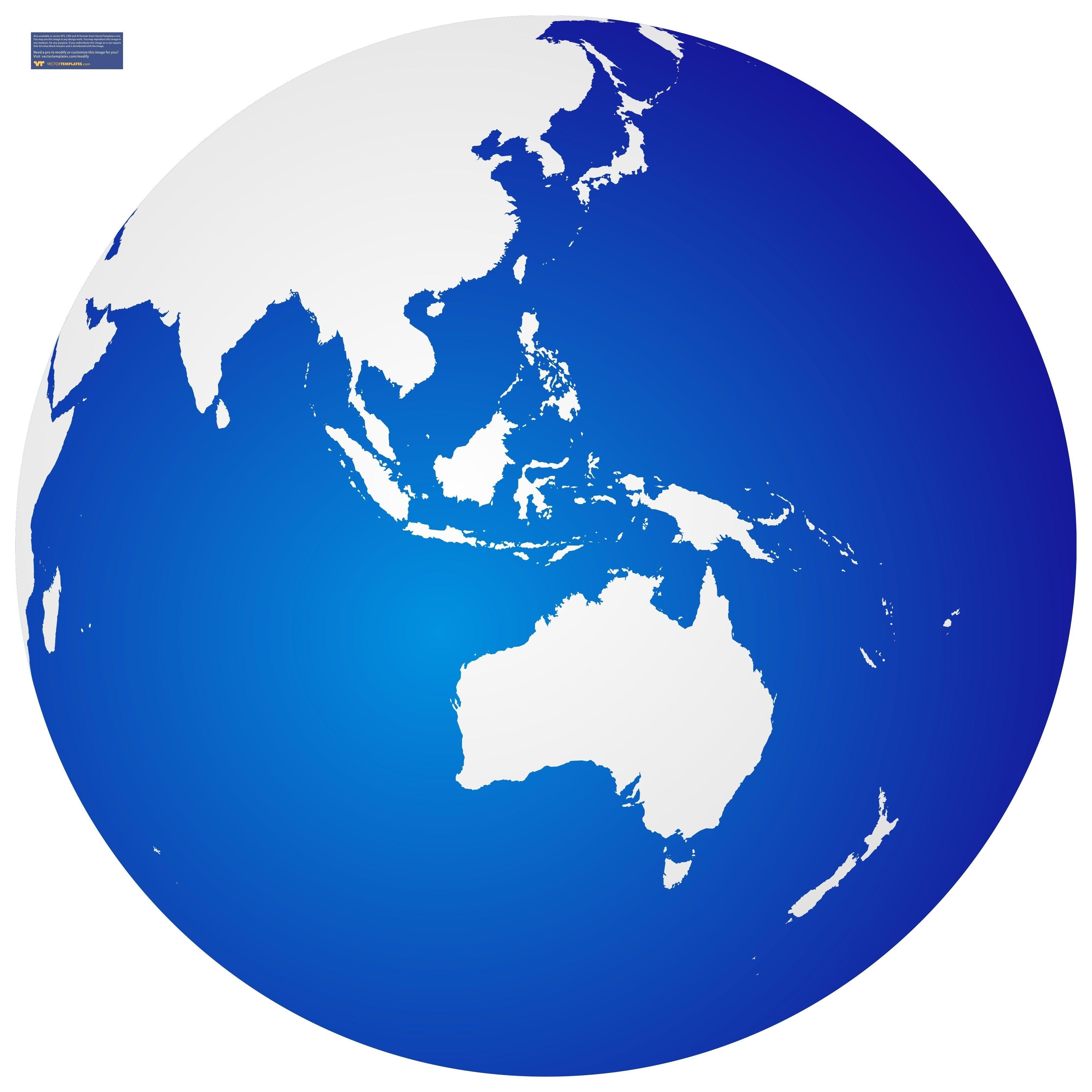 4021x4021 World Map In Globe Vector Copy Best World Map Cartoon Globe