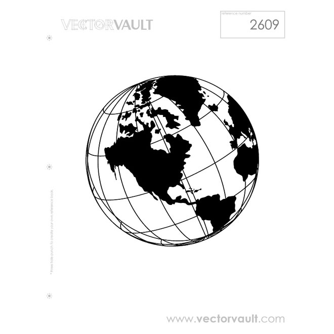 660x660 Globe Vector Image