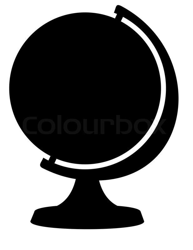 618x800 Silhouette Of Globe