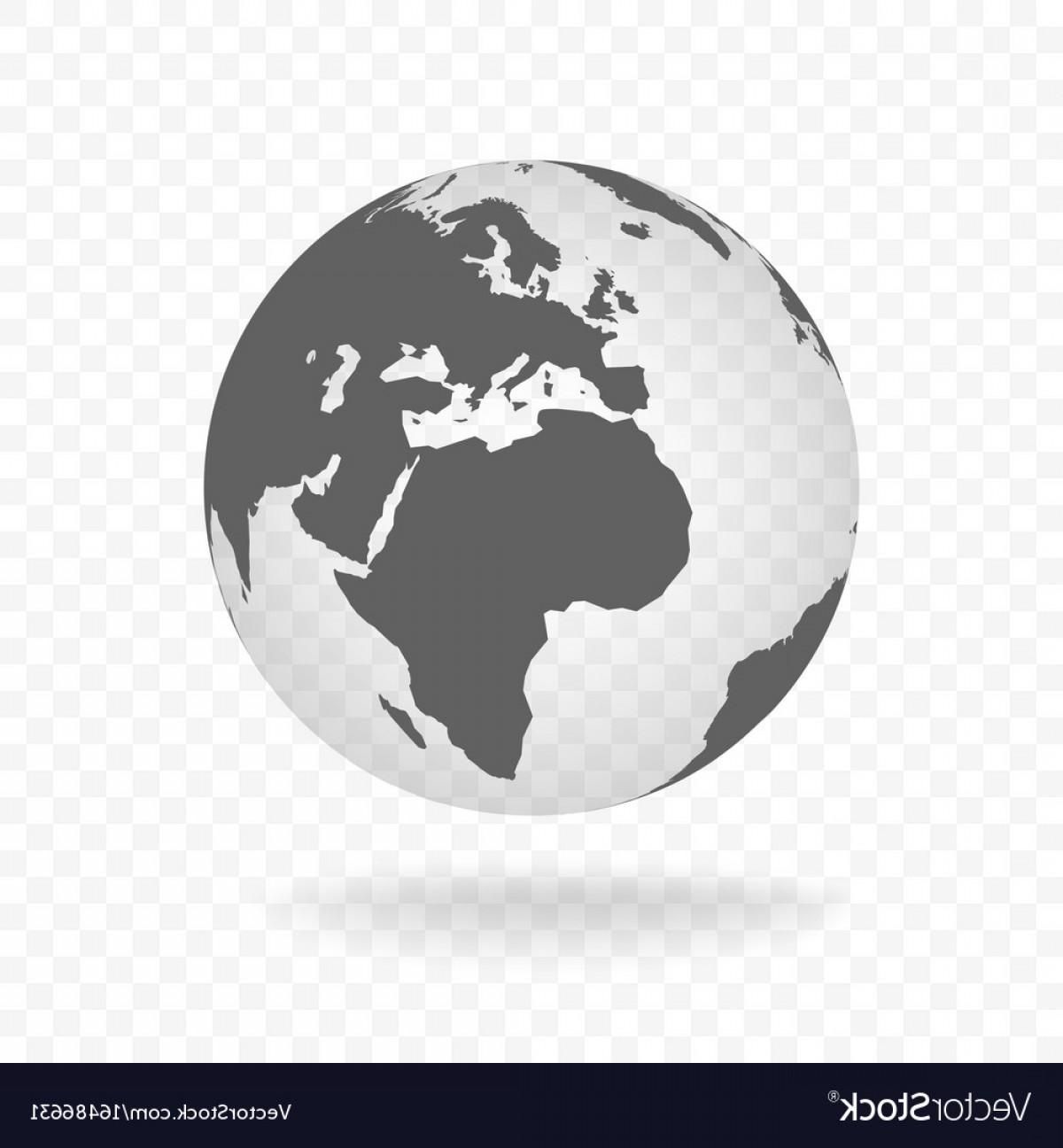 1200x1296 White Gray Globe Glass Transparent Vector Shopatcloth