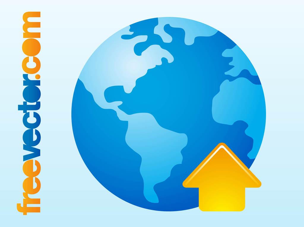 1024x765 Globe Arrow Icon Free Icon Packs Ui Download
