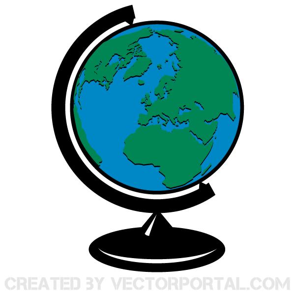 600x600 Globe Icons Vector Set 123freevectors