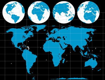 400x305 Globe Vector Free Download
