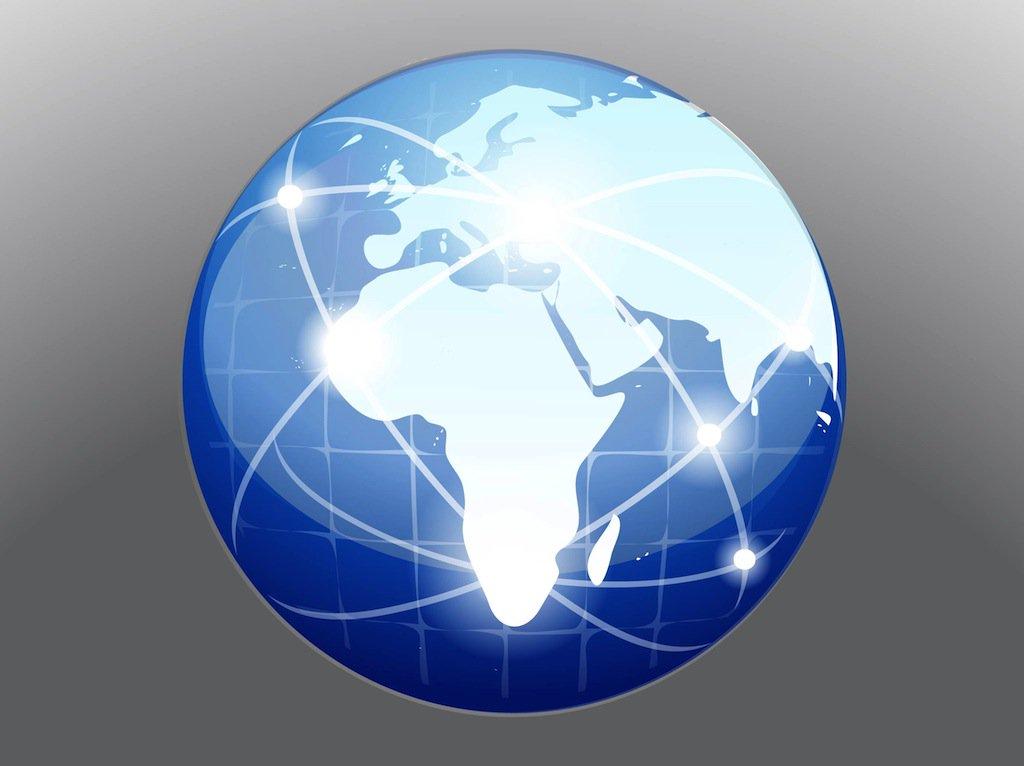 1024x766 Globe Vector Vector Art Amp Graphics