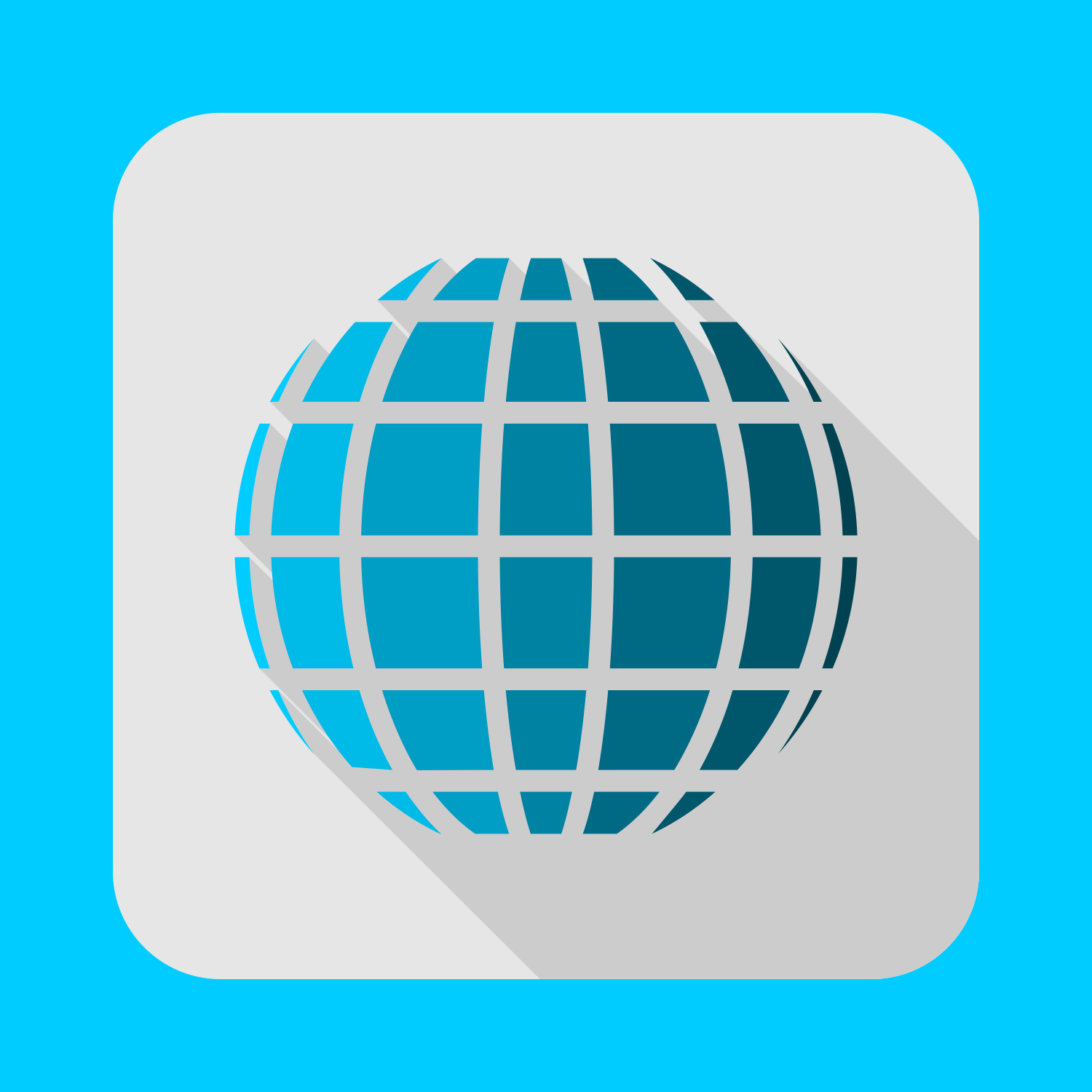 1500x1500 Vector For Free Use Flat Globe Vector