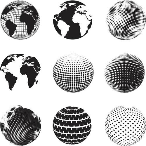 500x500 Free Vector Globe