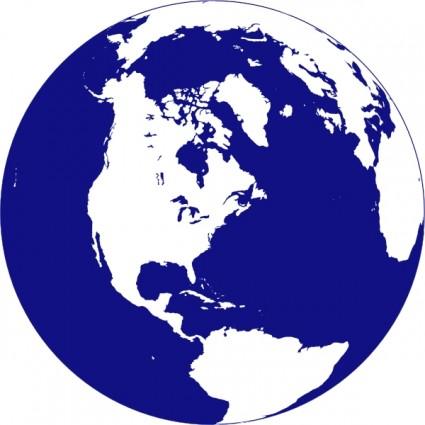 425x425 Globe Clipart Vector Northern Hemisphere Globe Clip Art Free