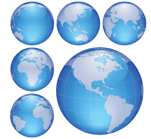 500x458 Free Download Of Globe Vector Graphics And Illustrations