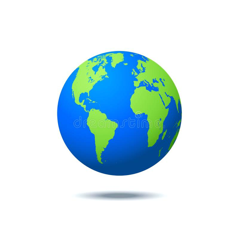 800x800 Earth Globe World Globe Editable Vector Illustration Earth Globe