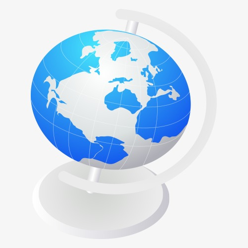 500x500 Globe Vector, Globe, Vector Png And Vector For Free Download