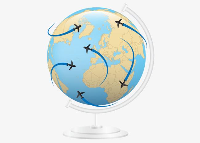 650x467 Vector Globe Travel Free Downloads, Globe Vector, Travel Vector