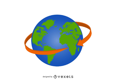 371x260 Globe Vector Amp Graphics To Download