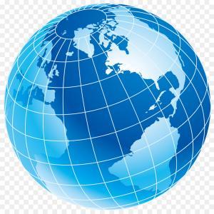 300x300 Photostock Vector Earth Globe Icon Simple Illustration Of Earth