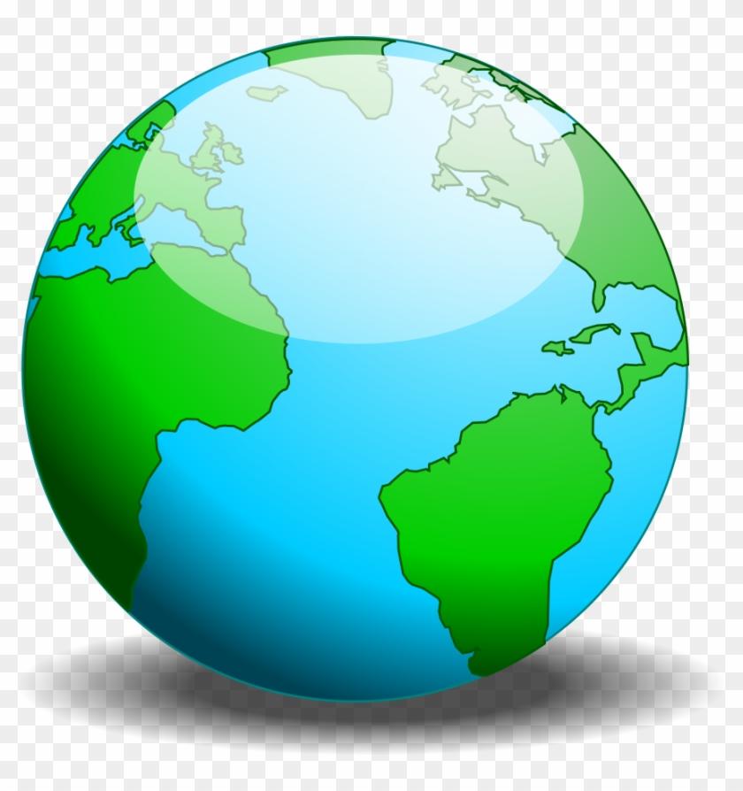 840x894 Simple Globe Vector