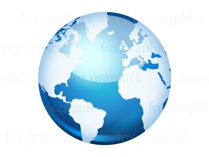 720x540 Vector World Globe Icon