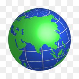 260x260 World Globe Vector Clipart