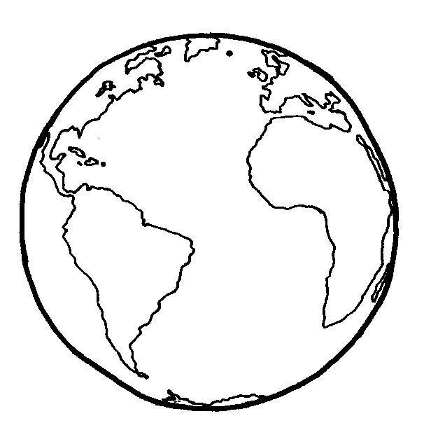 606x614 Globo Dibujo Simple Sin Coordenadas. Educando Juntos