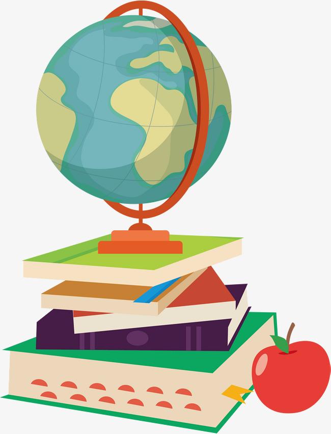 650x852 A Terrestrial Globe In A Book, Vector Png, Globe, Blue Globe Png
