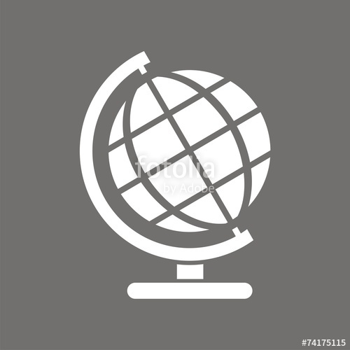 500x500 Icono Globo Fo Stock Image And Royalty Free Vector