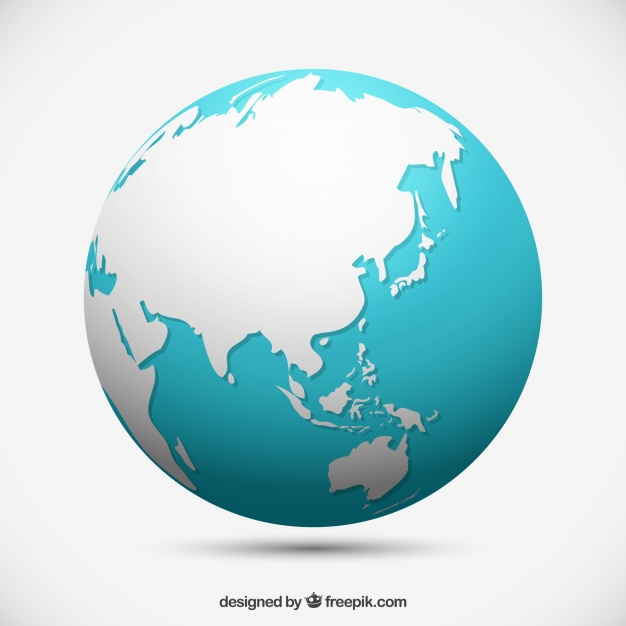 626x626 Isolated Earth Globe Vector Free Download