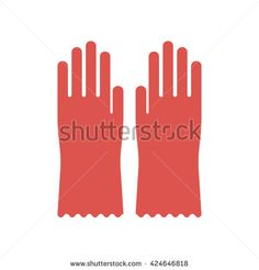 236x246 Rubber Glove Stock Vector Illustration And Royalty Free Rubber