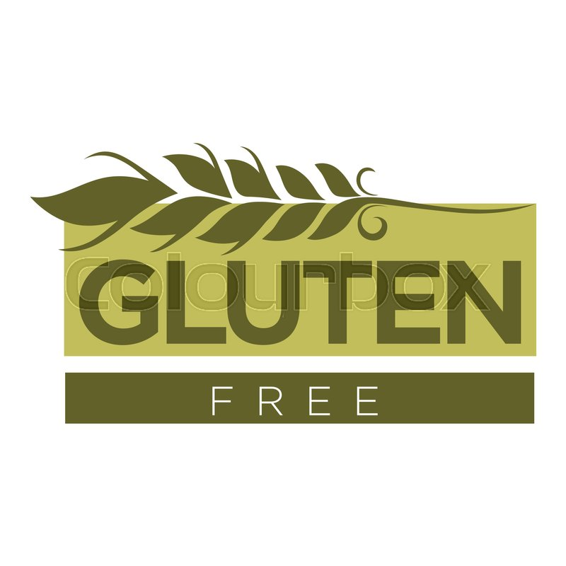 800x800 Gluten Free Substance In Cereal Grains Logo Design With Wheat And