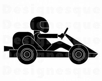 340x270 Go Kart Vector Etsy
