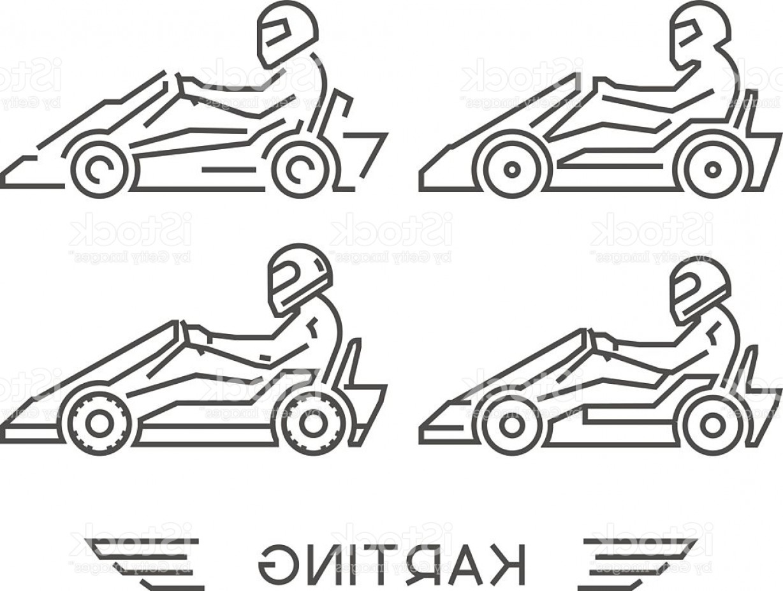1228x927 Line Go Kart Symbol Vector Karting Logo Gm Geekchicpro