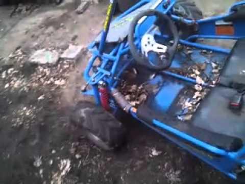 480x360 6.0 Vector Go Kart Before Fiberglass