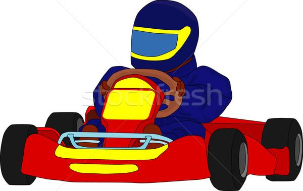 600x379 Go Kart Vector Illustration Pavel Bortel (Pavelmidi) ( 1304453