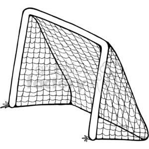 300x300 Free Soccer Goal Vector Image Eps Goal Clipart