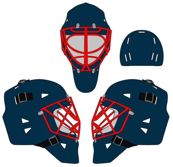 Goalie Mask Vector At Getdrawings Com Free For Personal Use Goalie