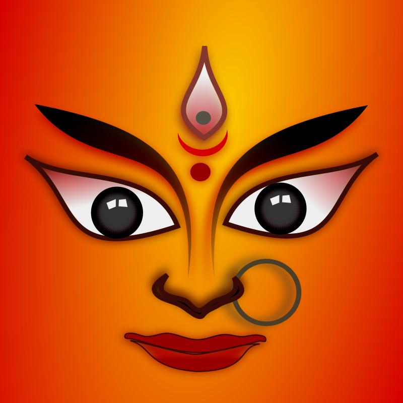 800x800 Goddess Durga Free Vector 4vector