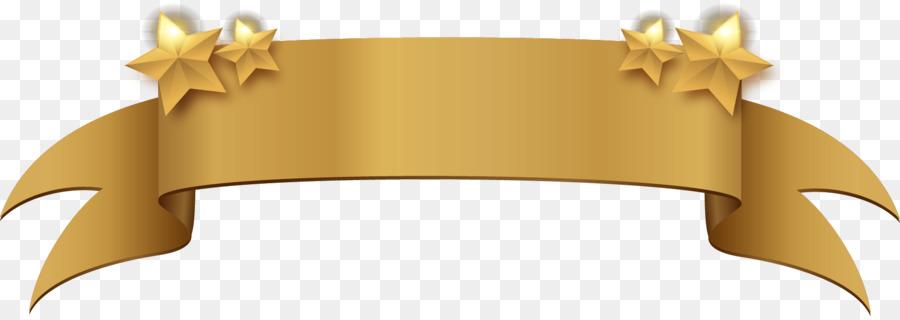 900x320 Banner Gold Clip Art