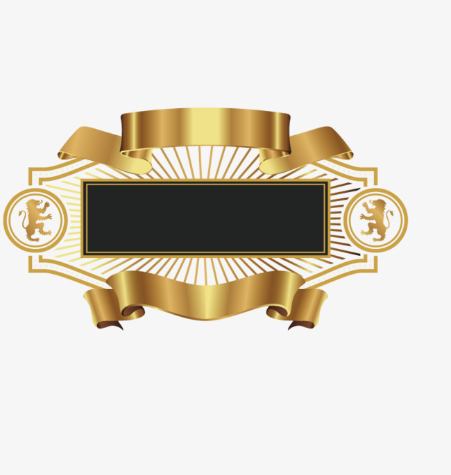650x685 Vector Gold Banner, Gold Vector, Banner Vector, Luxury Banners Png