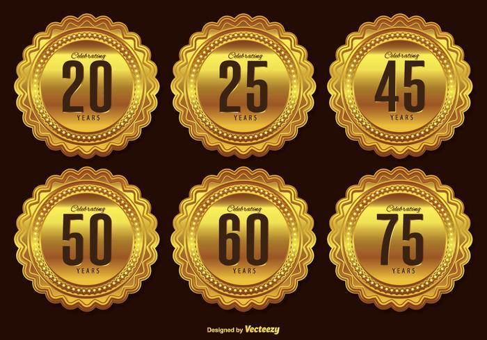 700x490 Gold Banner Free Vector Art