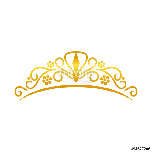 500x500 Beauty Golden Tiara Crown Stock Image And Royalty Free Vector
