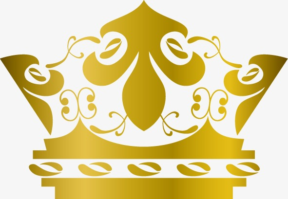591x409 Golden Crown, Golden Vector, Crown Vector Png And Vector For Free