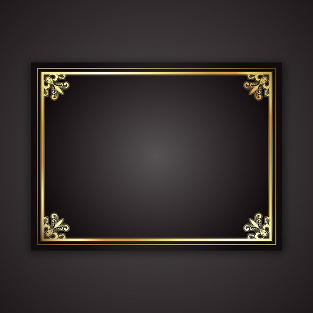 626x626 Gold Frame Vectors, Photos And Psd Files Free Download
