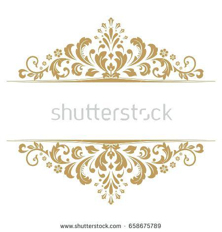 450x470 Vintage Gold Frame Vintage Gold Frame Vector Image Vintage Gold
