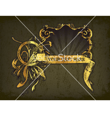 357x376 Free Vintage Gold Frame Vector Free Vector Download 265845 Cannypic