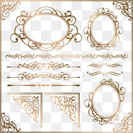 260x260 Gold Frame Png Images Vectors And Psd Files Free Download On