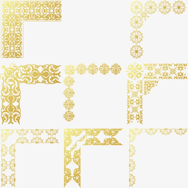 650x649 Gold Frame Vector, Vector, Golden, Frame Png And Vector For Free
