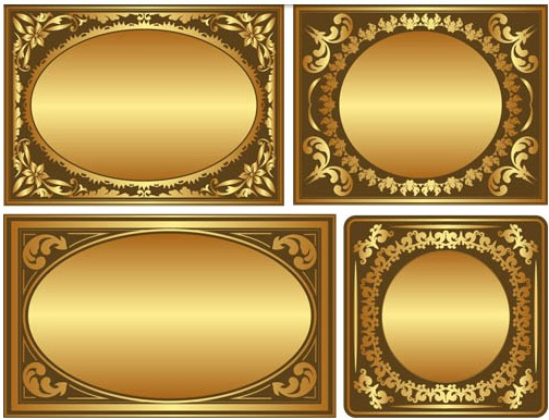 Gold Frame Vector Free at GetDrawings com | Free for