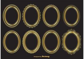286x200 Elegant Gold Vector Frames