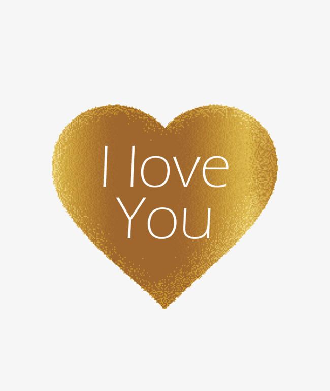 650x769 Vector Golden Heart, Heart Vector, Heart Clipart, I Love You Png