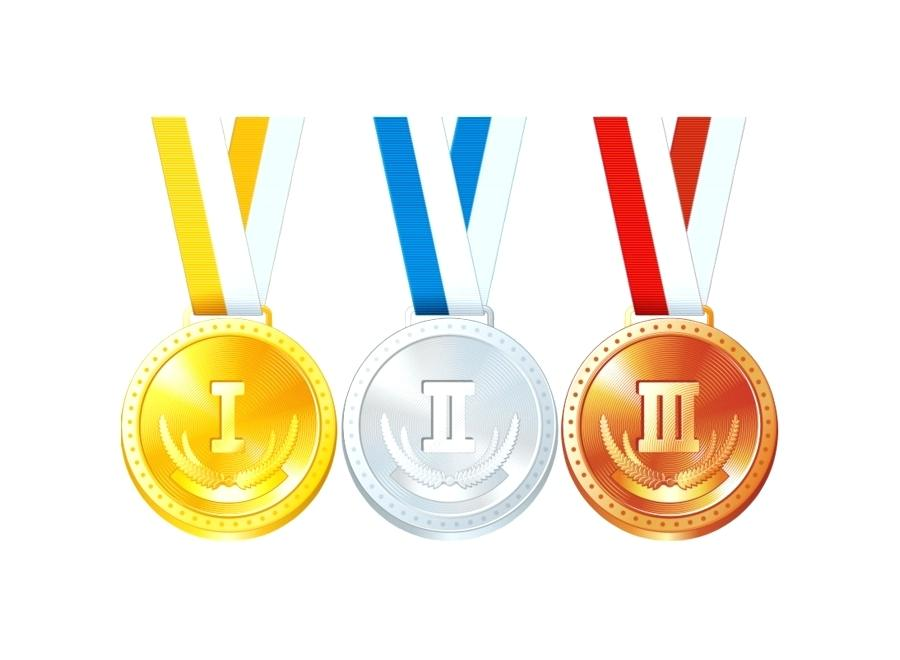 900x660 Gold Silver Bronze Medal Gold Silver And Bronze Medal Vector Pack