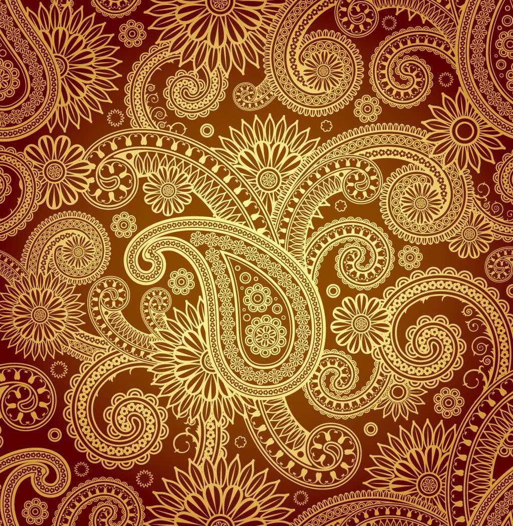1024x1050 Paisley Designs Gold Paisley Pattern Vector Paisley Design