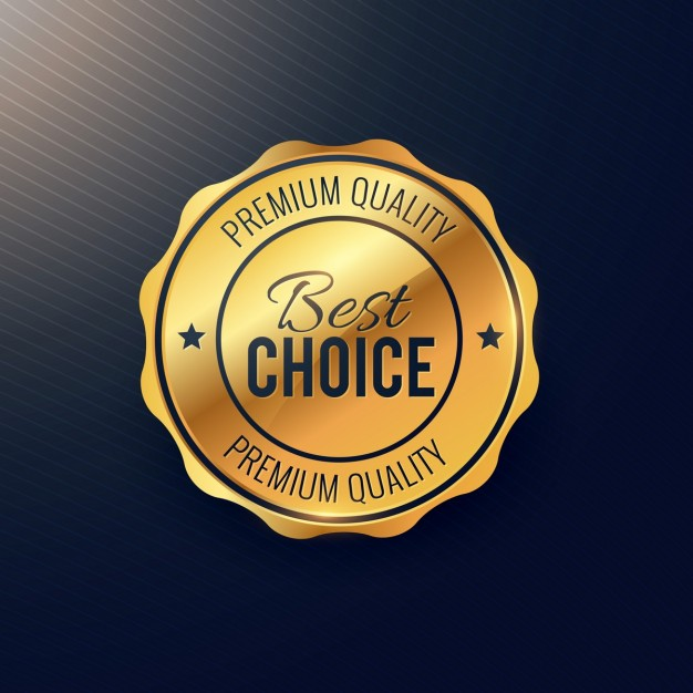 626x626 Gold Seal, Best Choice Vector Free Download